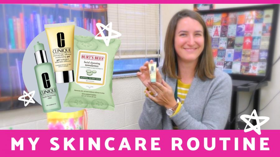 Take a peek into Ms. Neevel's skin care routine