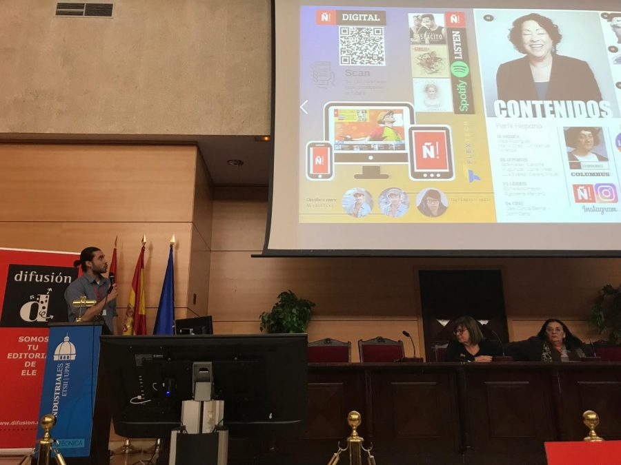 Verdugo's class magazine wins awards at international conferences