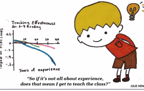 Does more experience make a better teacher?