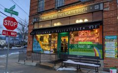 Zingerman's Delicatessen first offered traditional Jewish sandwiches. It now offers its own candy, baked goods, meats, coffee and cheeses.