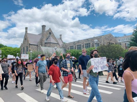 Black Lives Matter protests in downtown Ann Arbor