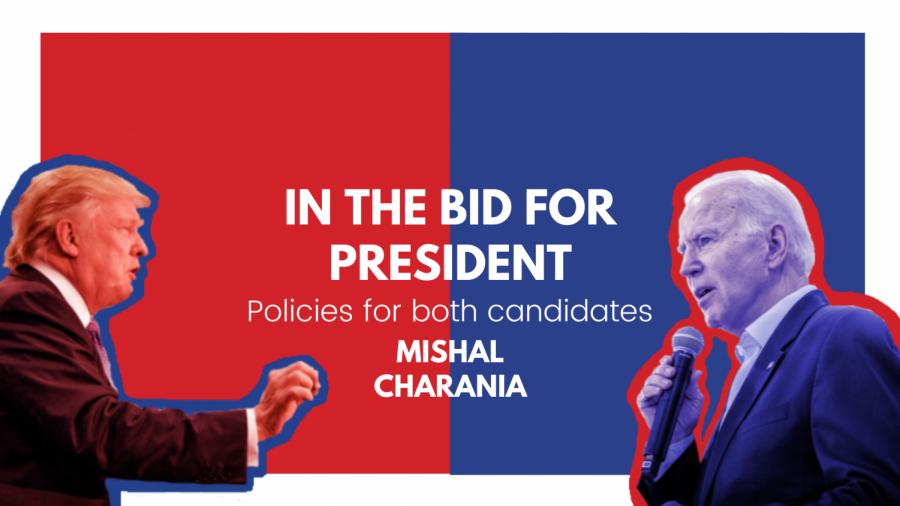 In the bid for president