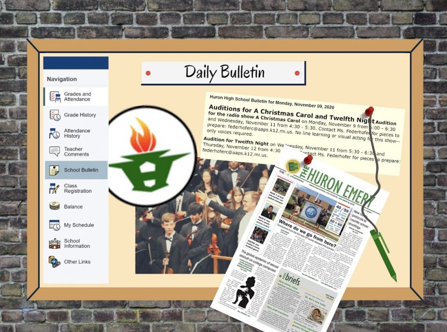 New PowerSchool Daily Bulletins