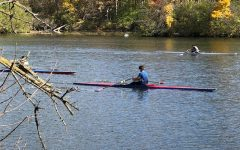 Because of the pods, rowers were restricted to one or two person boats.