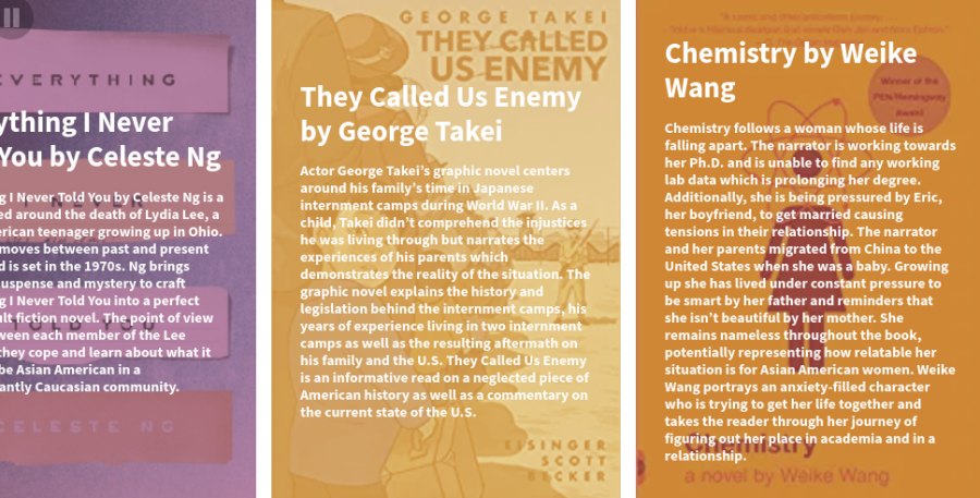 The Emery Reads: Asian American Experiences