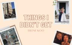 Things I didn't get: June Koo