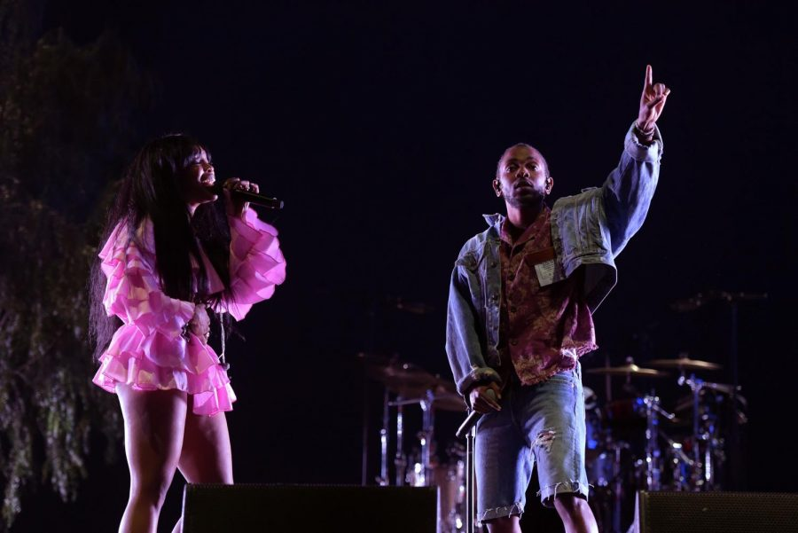 SZA+and+Kendrick+Lamar+perform+onstage+during+the+2018+Coachella+Valley+Music+And+Arts+Festival+at+the+Empire+Polo+Field+on+April+13%2C+2018+in+Indio%2C+California.