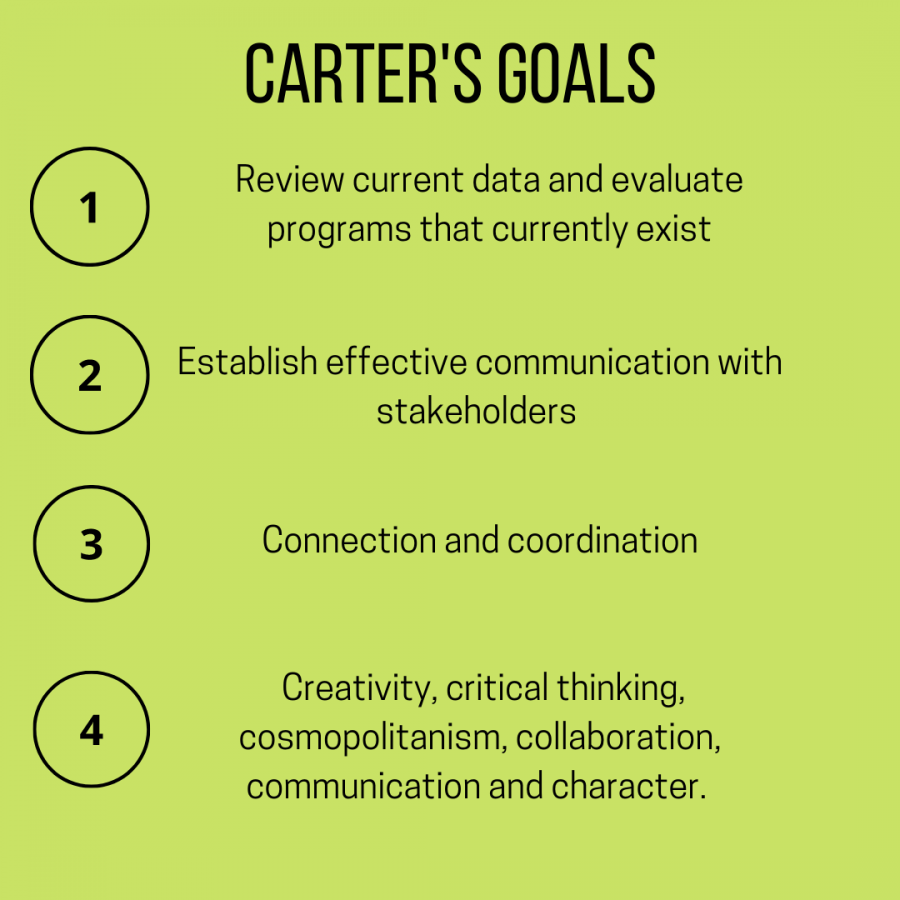 More information about Carters Goals